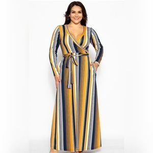 Flattering Autumn Maxi dress